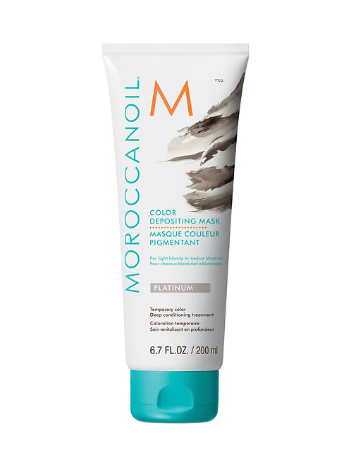 Moroccanoil Color Depositing Mask Platinum 200ml