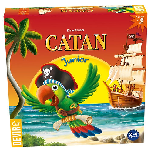 Catan Junior (Trilingue)