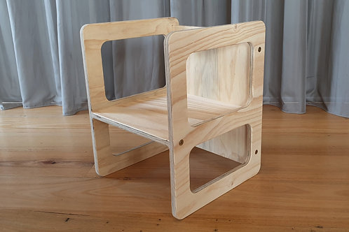 Toddler chair - kids weaning chair - wooden plywood chair - Australian made