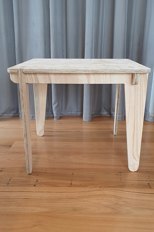 Toddler table - plywood kids table - Australian made