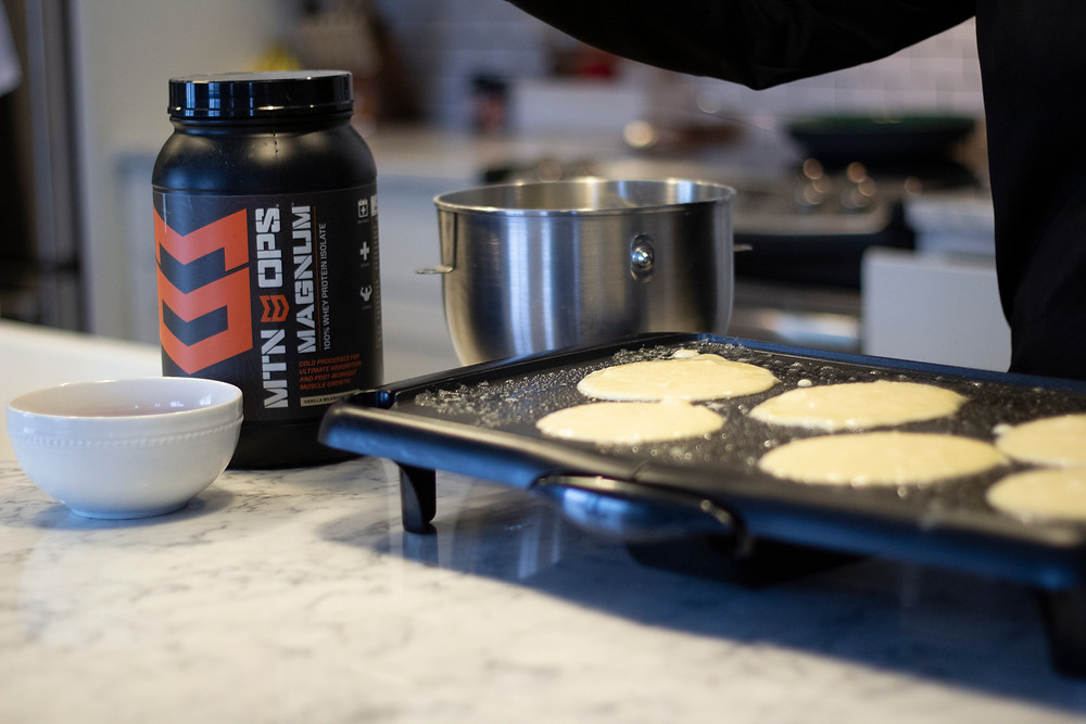 Mtn Ops Protein Powder Pancakes