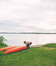 HIPCAMP - MOSS LAKE CABIN - Rapid River, Michigan