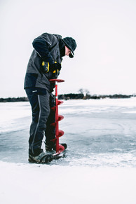 Ice Fishing Photography