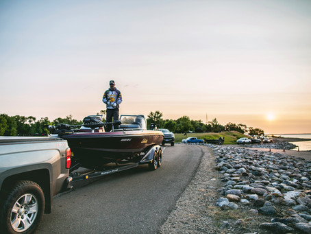 Cabela's National Walleye Tour in Devils Lake, ND