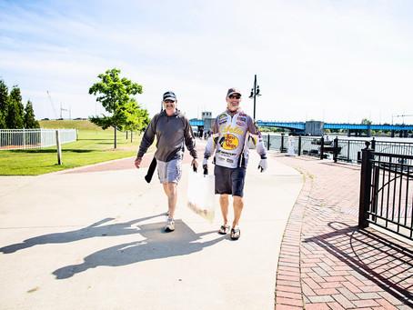 Lake Michigan Circle Tour Solo Road Trip - Part 4 National Walleye Tour Saginaw Bay