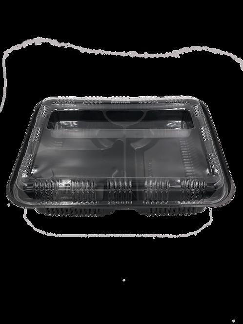 กล่องอาหาร 3 ช่องพร้อมฝา