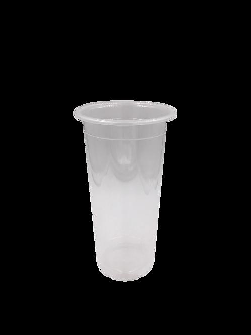 แก้วพลาสติก PP 20 ออนซ์ ปาก 90 เรียบใส