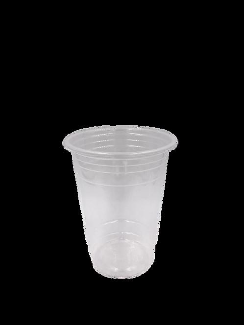 แก้วพลาสติก PP 16 ออนซ์ ปาก 95 เรียบใส
