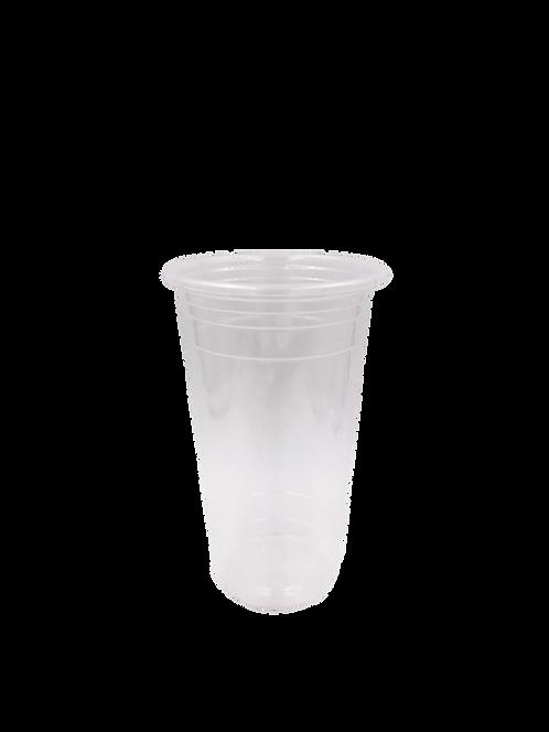 แก้วพลาสติก PP 22 ออนซ์ ปาก 95 เรียบใส