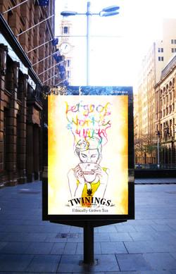 Illustration Street Ad
