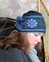 Twilight Embroidered Hat