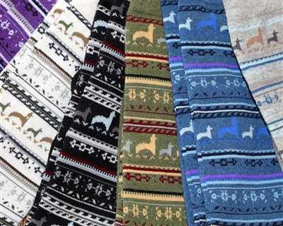 Lightweight Alpaca Crew Socks