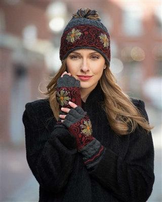 Smokey Mountain Fingerless Gloves