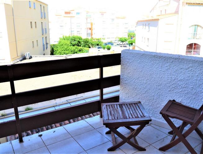 Petite terrasse de la grande chambre
