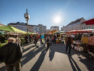 Die Shop- bzw. Mazzesinsel ist Wiens heimliches Zentrum.