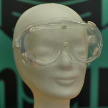 Schutzbrille geschlossen