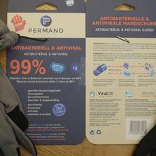 PERMANO MICROPRTECT - Handschuhe