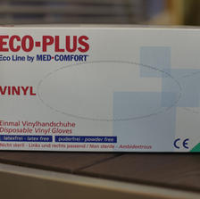 ECO-PLUS – Einmal Vinylhandschuhe
