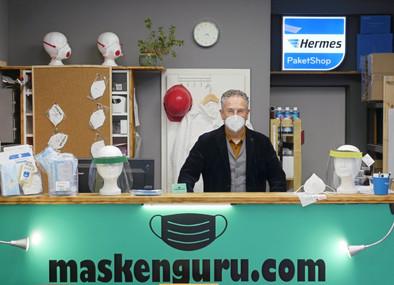 Wilkommen in unserem maskenguru.com Shop