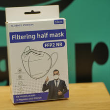 SUMMIT PERSON - Filterimg half mask - FFP2 NR