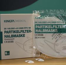 KINGFA – Partikelfilterhalbmaske - FFP2 NR