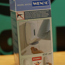 WENKO - ASCLI Desinfektionsmittelspender