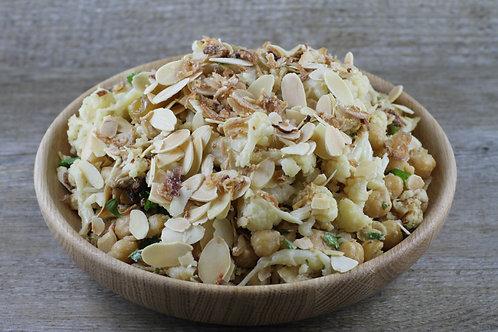 Medium Salad:  Roast Cauliflower