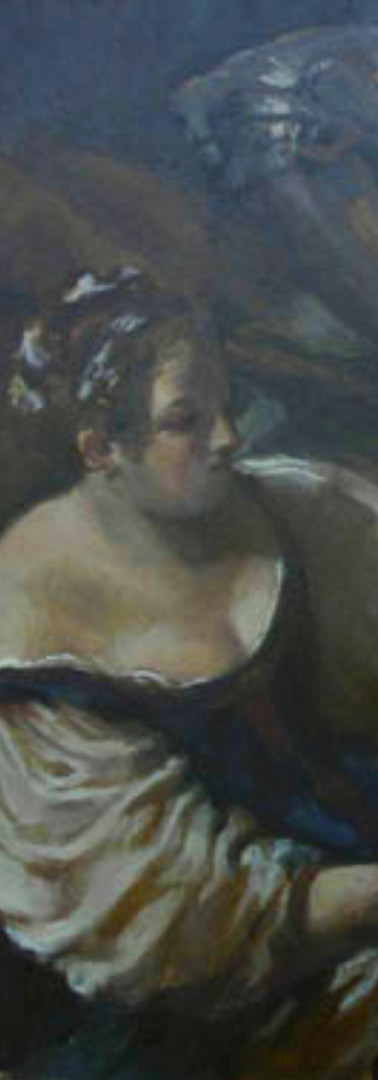 After Guercino's Samson