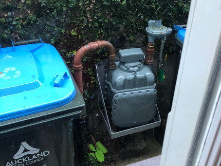 Auckland Gas Meter Cover