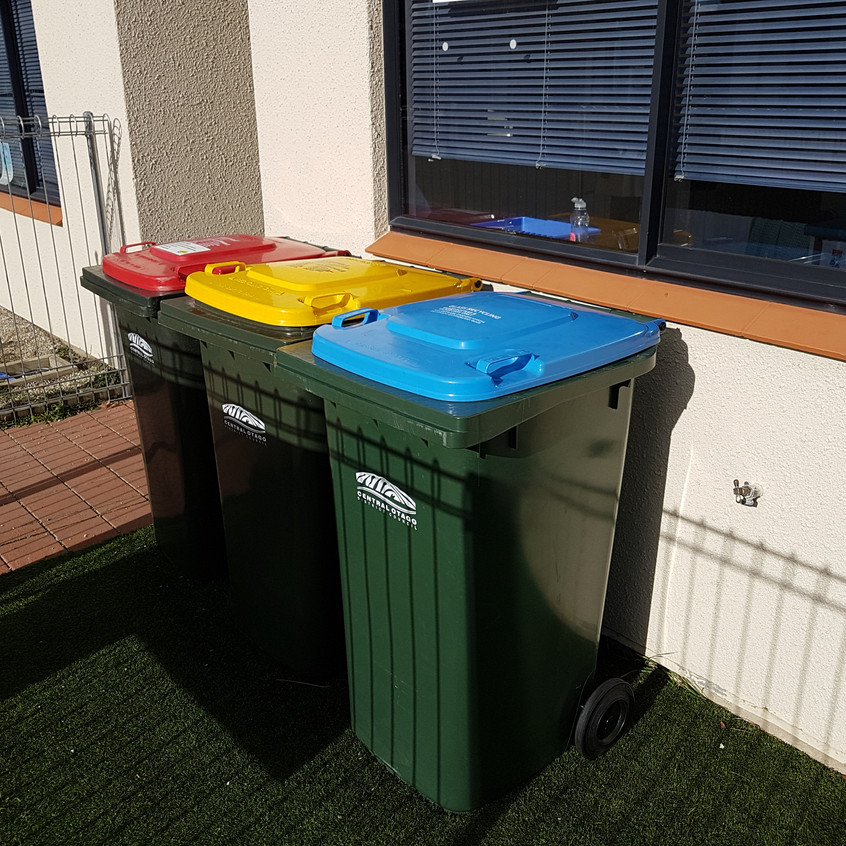 Wheelie Bins without a Shed