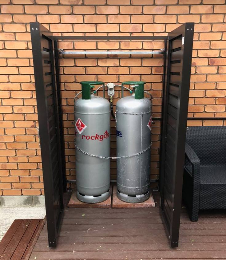 LPG Gas Bottle Cage Solutions