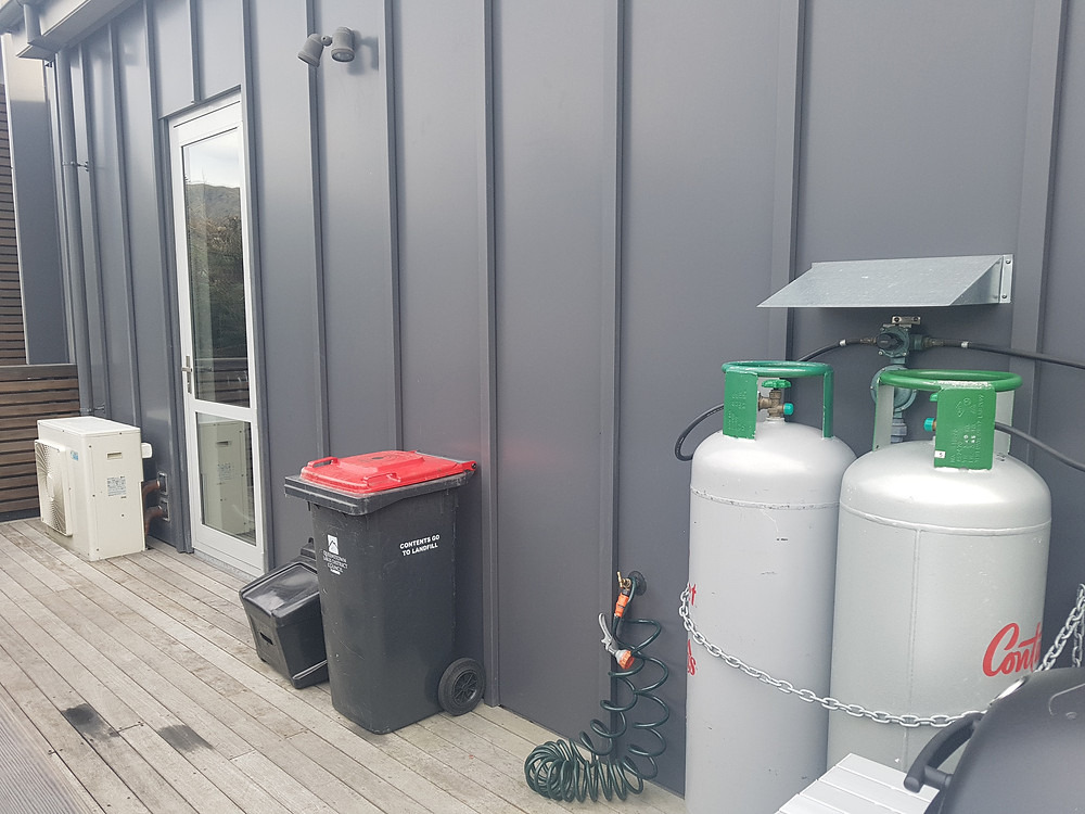 Outdoor Eyesores Gas Bottles Wheelie Bins Heat Pump Unit