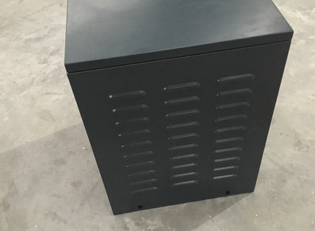 9kg Gas Bottle Locker Built