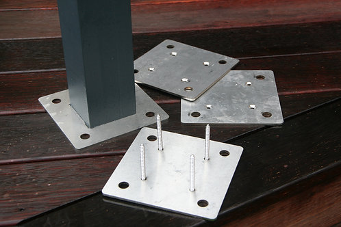 Base Plates & Cross Bar Kit