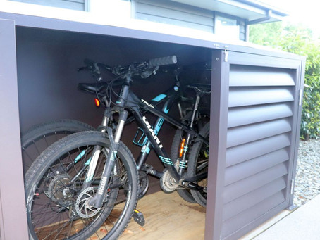 A Stylish Shed for Your Bikes - The Bike Shed