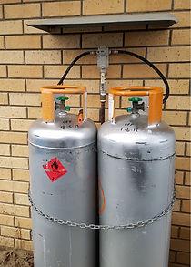 Hideawayz Gas Bottle Protectors hide and cover 45kg Gas Bottes.
