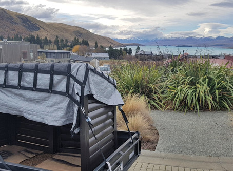 Lake Tekapo Wheelie Bin Shed Delivery