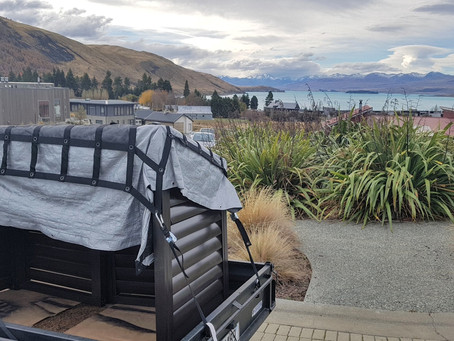 Lake Tekapo Wheelie Bin Shed Delivery