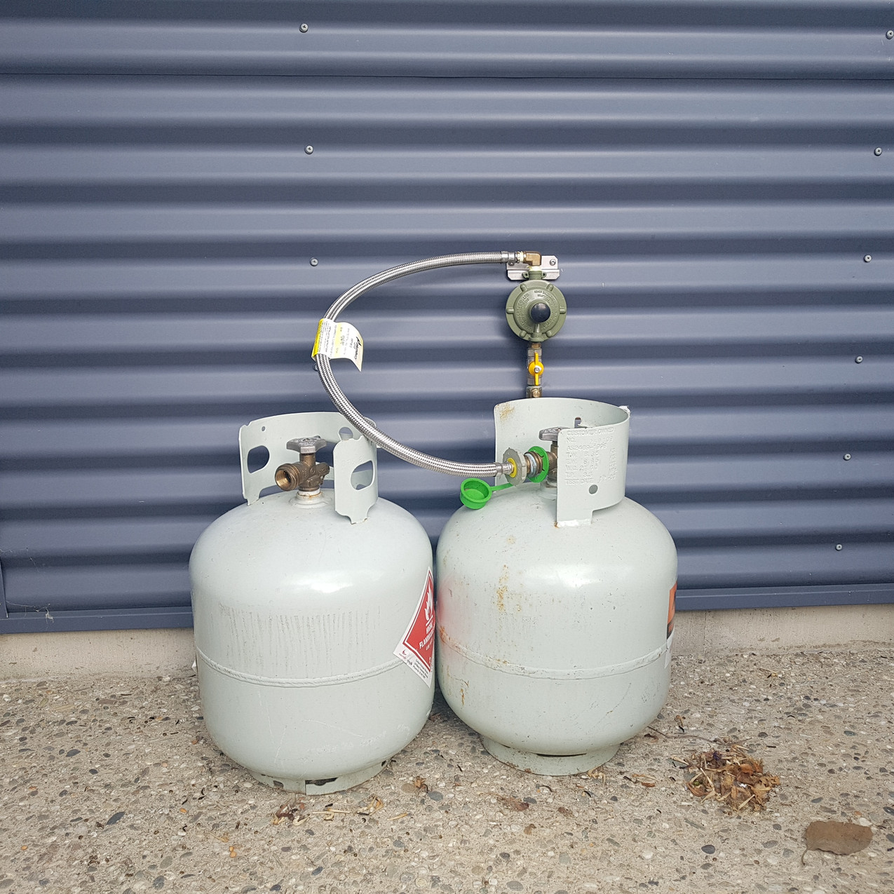 Two 9kg Gas Bottles
