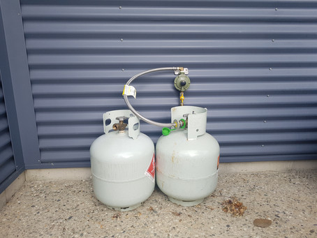 Solutions for 9kg Gas Bottle Storage
