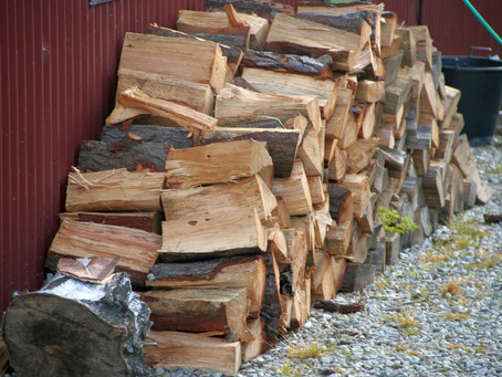Firewood Needs Good Dry Storage!