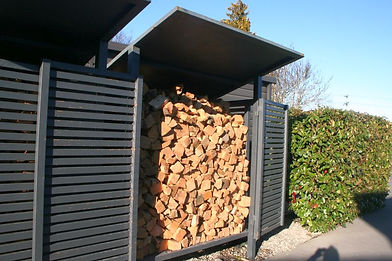 Wood Shed Full of Dry Wood