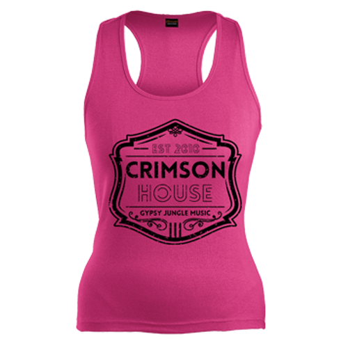 Lady's Pink Vest