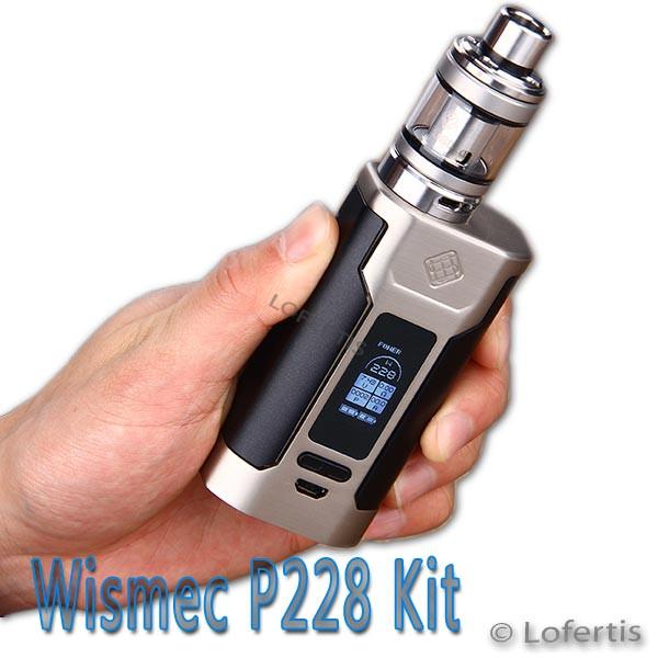 Wismec Predator 228 Kit - eZigarette