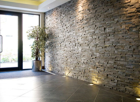 Consider Stacked Stone Ledger Panels For A Textural Wall Look !