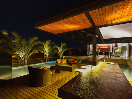 Set the Mood With Outdoor Lighting !!