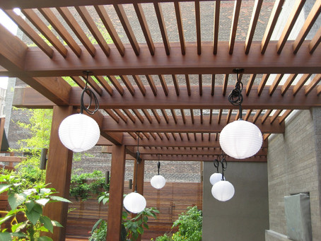 Make Your Gazebo or Pergola Stand Out This Winter!