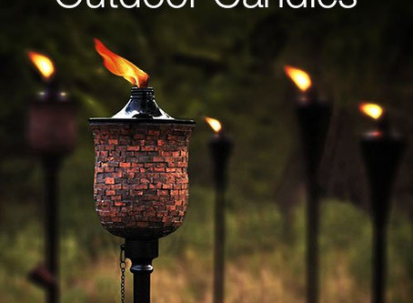 Garden Torch : One decorative way to light your outdoors !