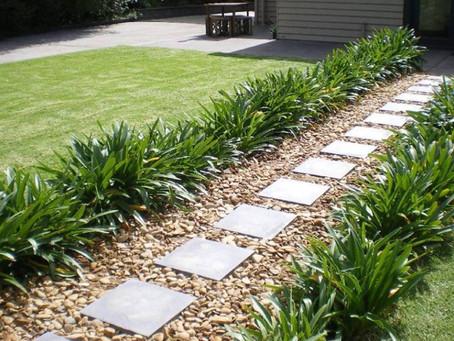 Stone - paved pathway !
