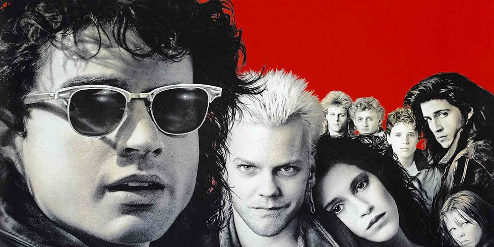 THE LOST BOYS: Iris Halloween Drive In Movies